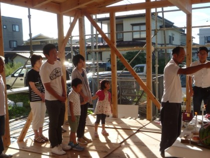 New!【工事現場】桜町の家